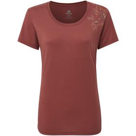 Sherpa Hawa Camiseta Mujer, ganden red
